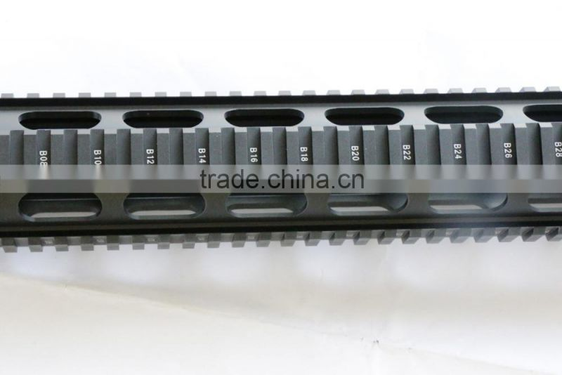 SUNGUN MTS0059 15 inch AR Free Floating Quad Rail