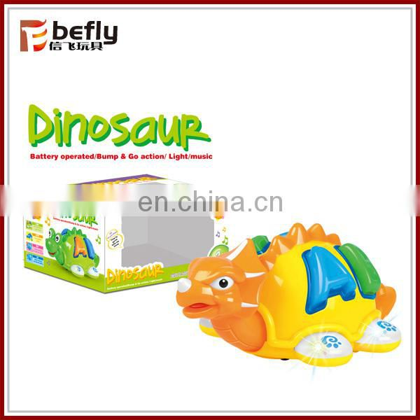 Cartoon battery operated toys insect with light and music
