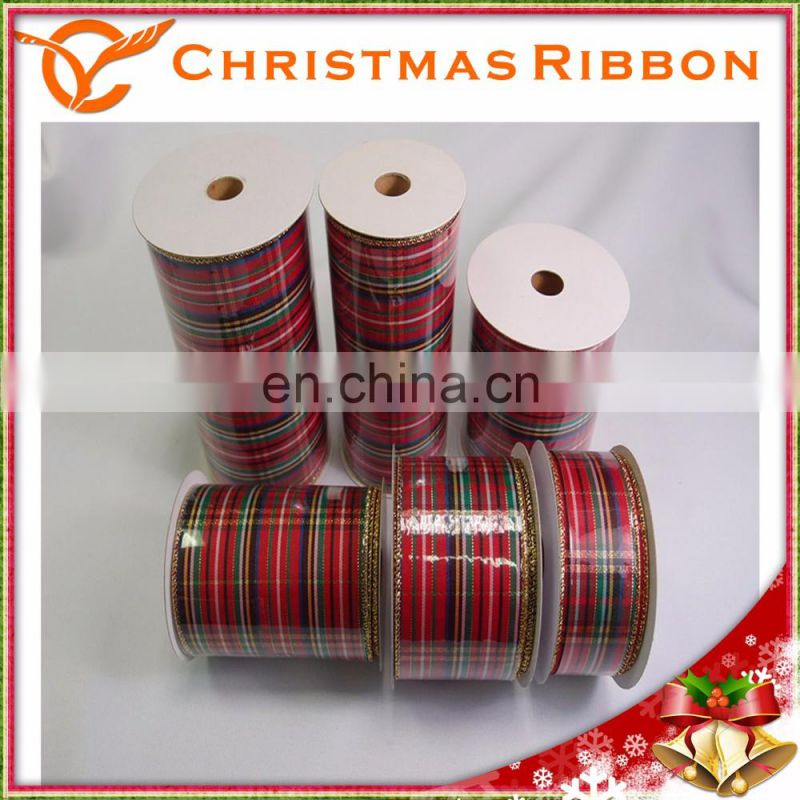 Finer Quality Christmas Nastro In Spools For Wine Packing