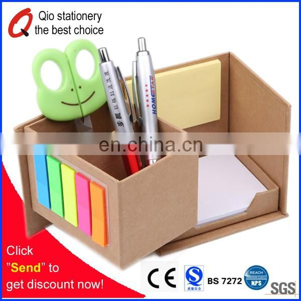 Recycled sticky Notepad stationery set for promotion with your designed logo
