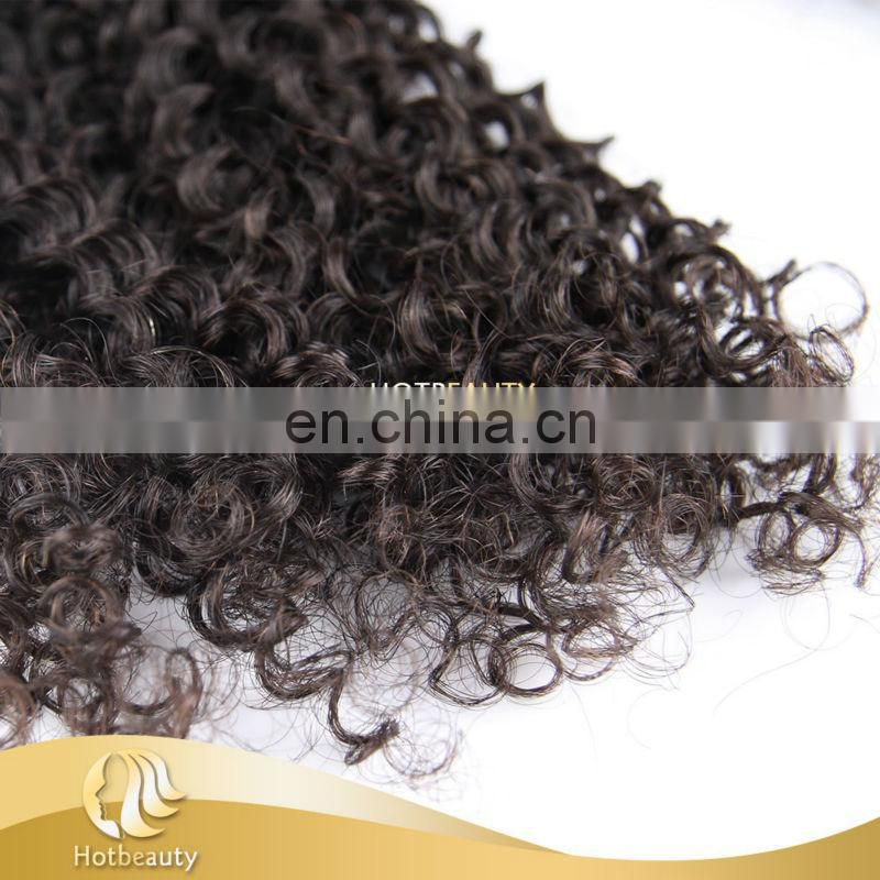 Wholesale 6A darling virgin hair extension,100% raw brazilian afro kinky curly remy hair weaves