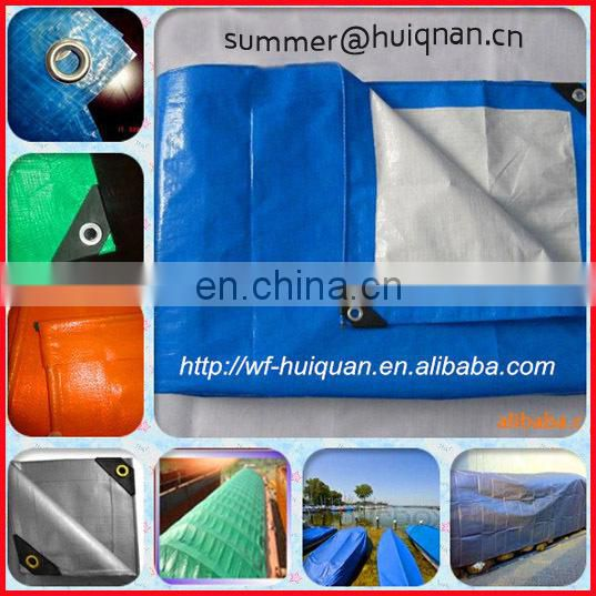 PE sheets black film hot building material TARPAULIN/TARP