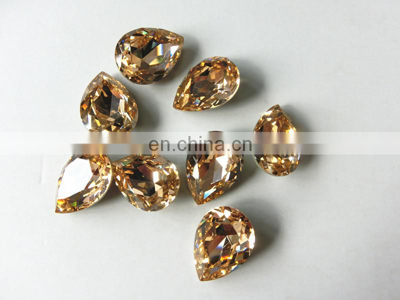 China Point Back Jewelry Crystal Stone Wholesale