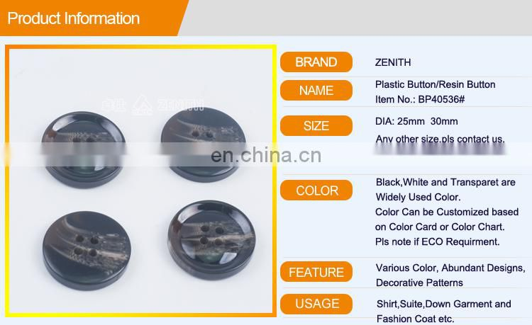 Polyester Button Sewing Coat Button BP40536