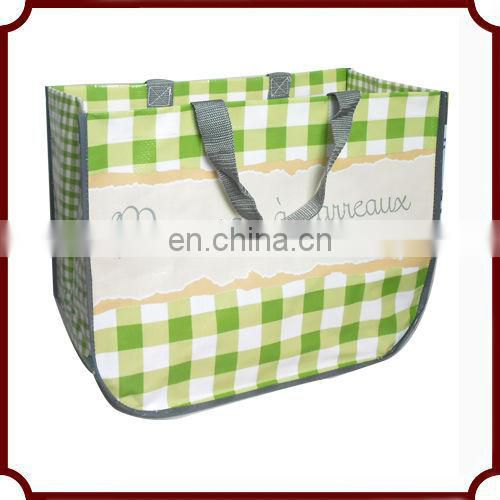 custom design personalized reusable hot sell pp woven bags for rice packaging