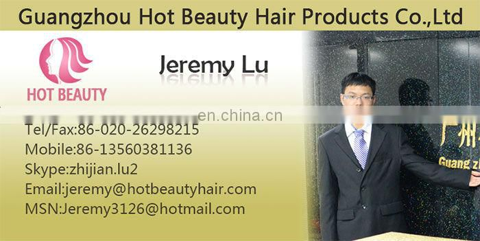 jerry curl french wave human hair extension