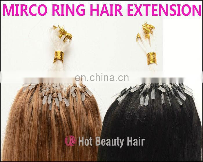 Clip On Hair Pieces 100% 613 100% Remy Hair Micro Link Hair Extension