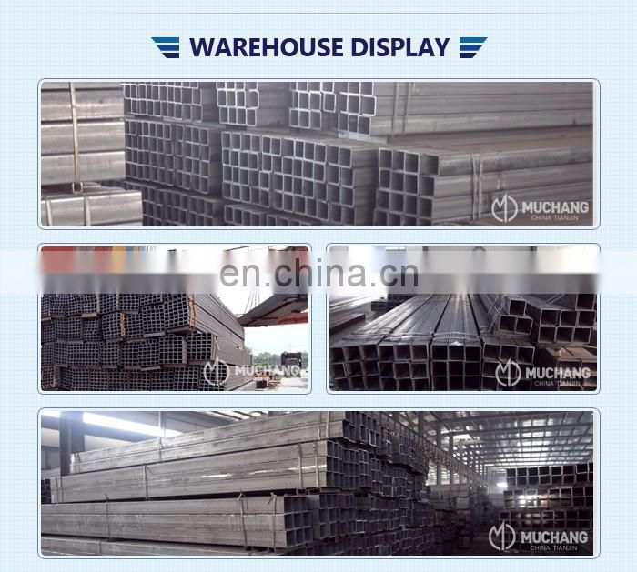 High quality BS 6323 Hollow Section Square Steel Pipe /Tube