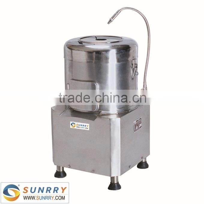 Potato peeler machine capacity 8kg electric potato peeler machine for CE potato peeler machine price (SY-PP8A SUNRRY)