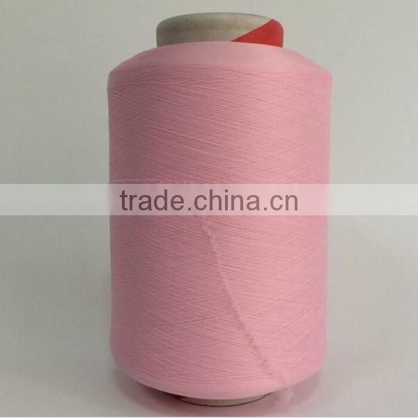 Factory prices high quality colored air spandex covered yarn spandex /nylon covered yarn for knitwear 4070