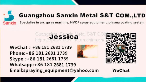 metal surface rougher treatment machine of powder spray system from