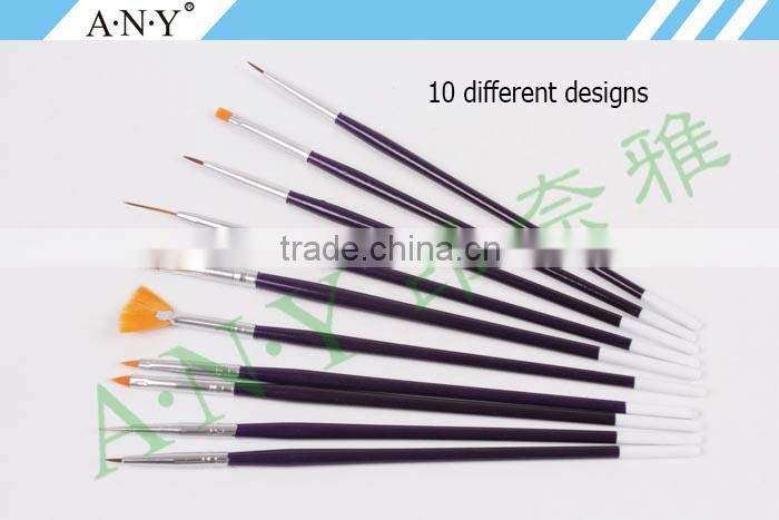ANY 10PCS Wood Handle Nail Art Kit Prices Cheap And Durable