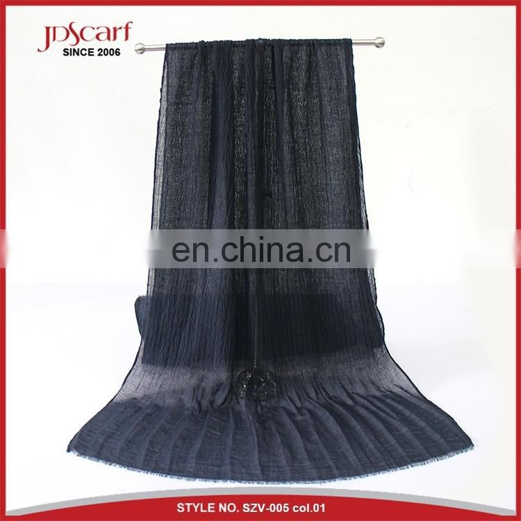 spring autumn new designer viscose scarf wholesale from china
