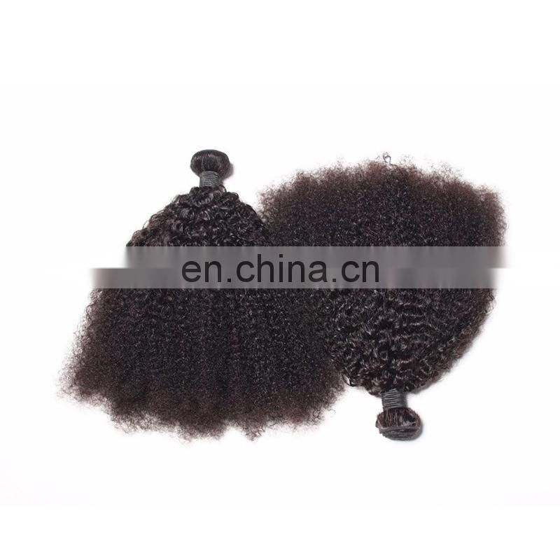 Virgin Hair Factory Unprocessed Brazilian Human Remy Hair Extension Afro Kinky Curly