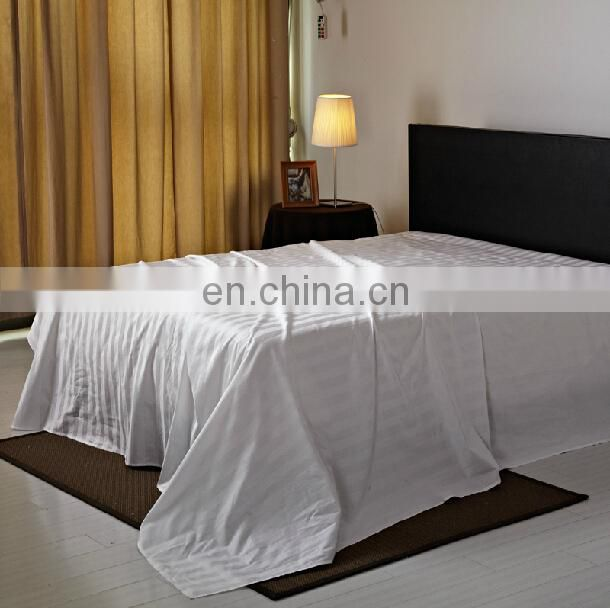 Factory Manufacturer Hotel 100%cotton bed sheet fitted sheet