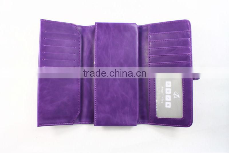 Alibaba china strap customized women wallet women leather wallet ladies purse