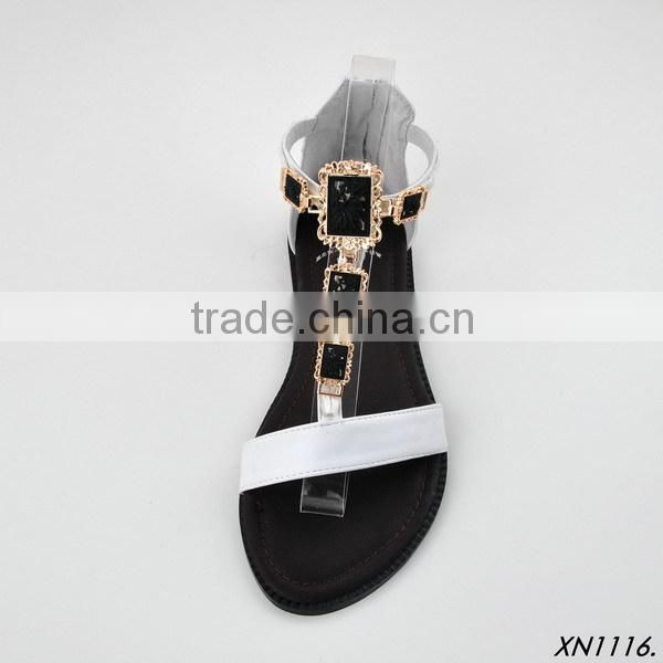 2015 Garment Accessories shoe buckle for summer colorful sandal