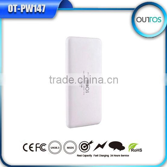 New and fashion quick charge 2.0 power bank 10000mah