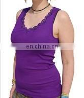 wholesale plus size seamless silk tank tops