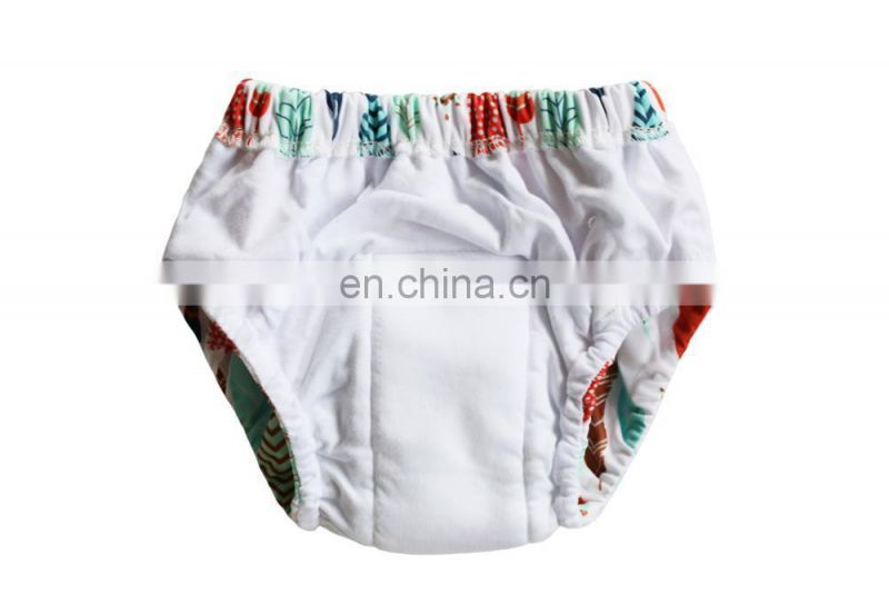 Elinfant 2017 fashion Models Patterns Baby Trainers Waterproof Baby Cotton Training Pants