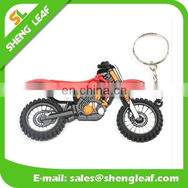 wholesale custom car shaped soft pvc rubber keychain