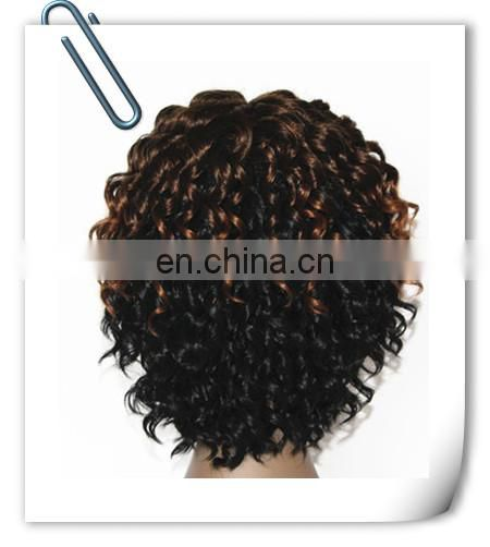 Alibaba wholesale High Quality 100% Synthetic Fiber Factory price wigs