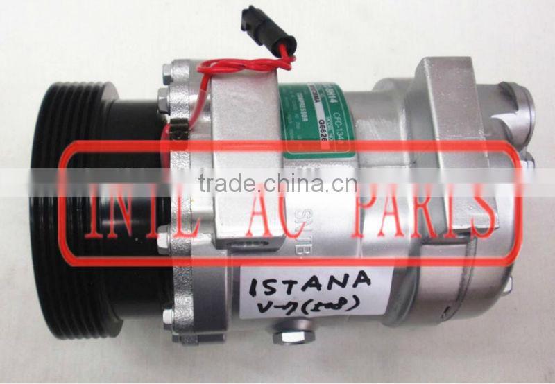 Sanden 508 PV6 AC Compressor adapt replacement for Delphi V5