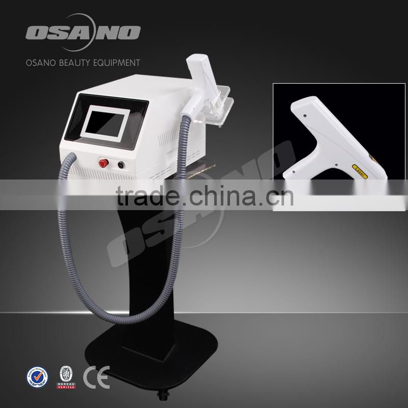 ND yag Laser Tattoo Removal machine with black doll for face treatment