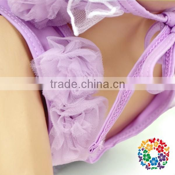 High Quality Swimsuit Wholesale Baby Girls Swimwear Beachwear Kids