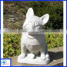 Polyresin Dog Figurine for Garden