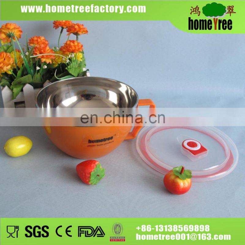 2015 New product Korean heat resistant stainless steel bowl