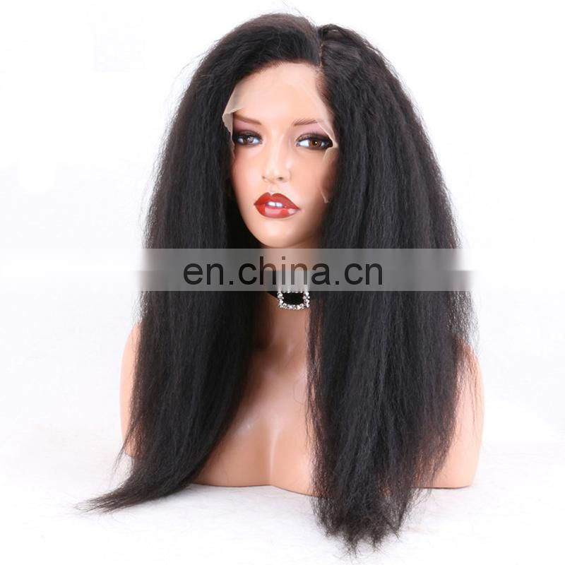 Italian Curly indian human hair wigs for black women