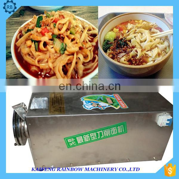 Home use sliced noodle making machine/maker In high producing effectively safe and health