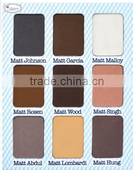 Super Popular The Balm Meet Matt (e) 9 Colors Nude Eyeshadow Palette