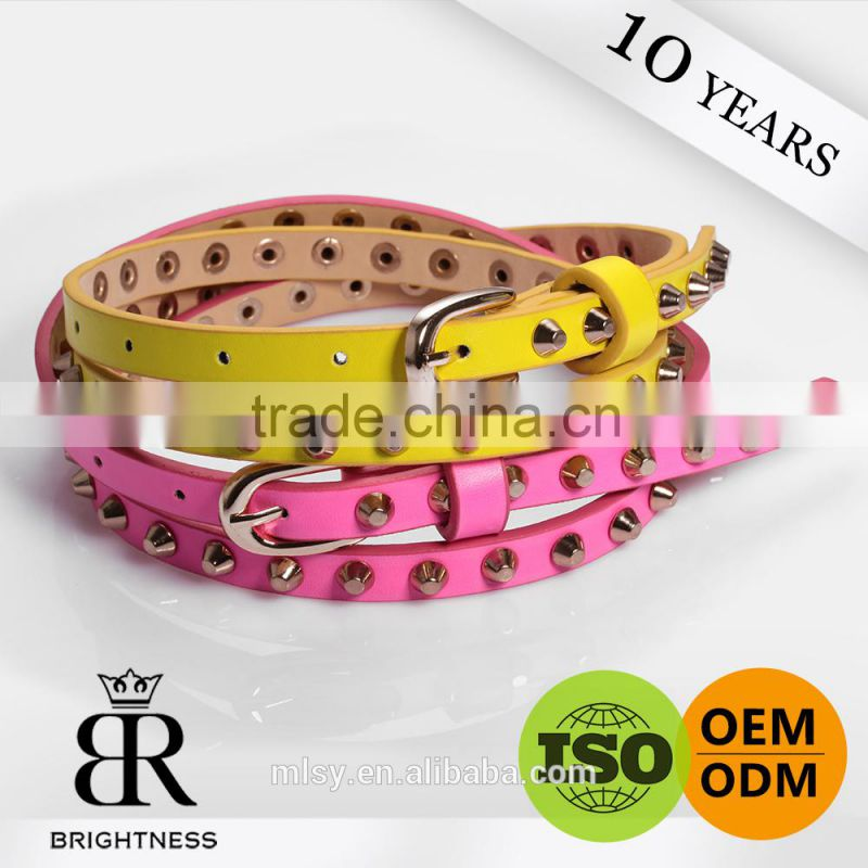 Decorative waist chain belly ladies belt custom made belts