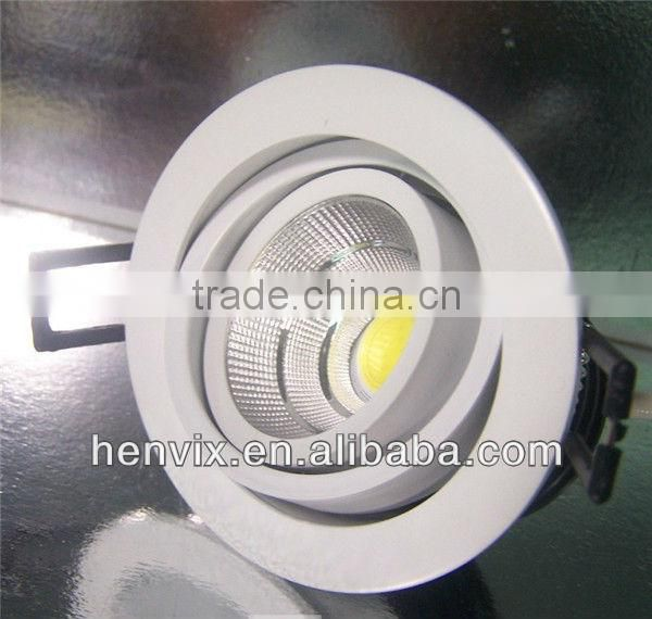 High quality dimmable 6000k adjustable led downlight 7W