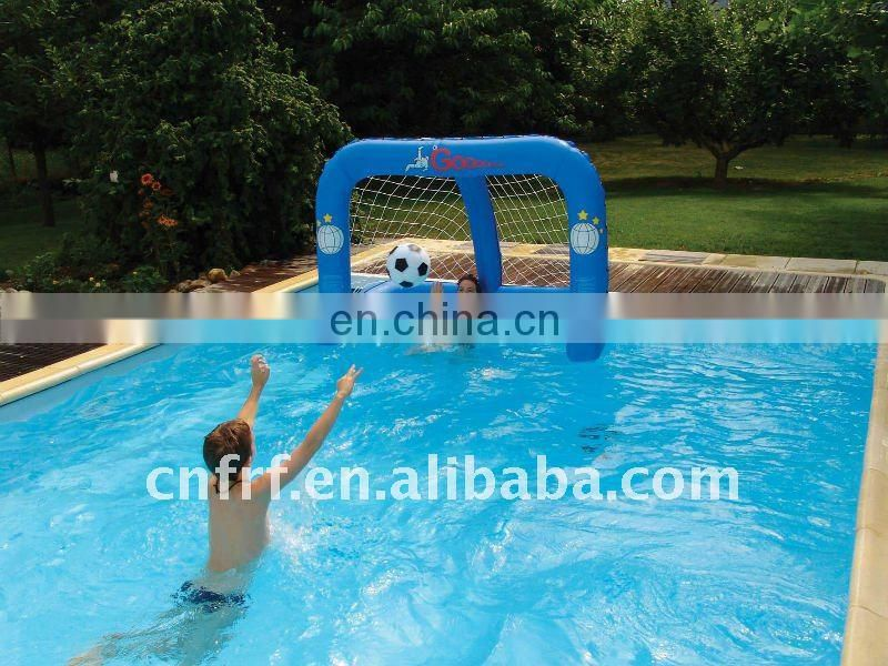 Inflatable Floating Football Gate