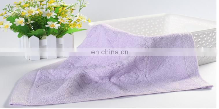 bamboo fiber towels baby towels cartoon hand towels for babies and children 55*45cm 54g