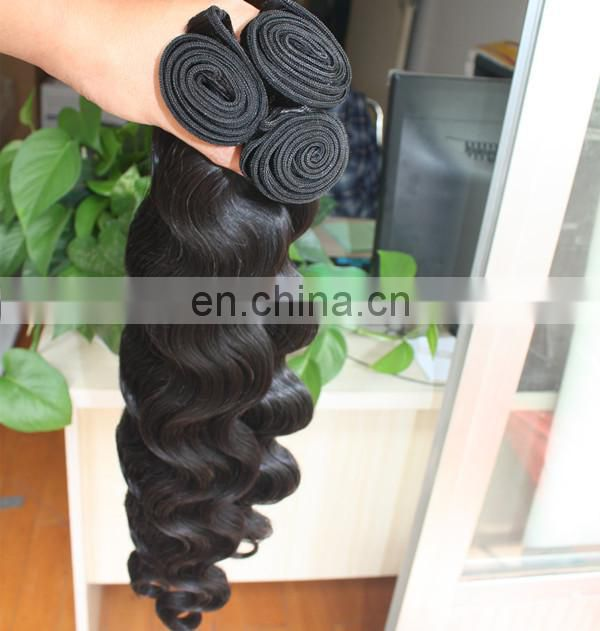 Factory hair wholesale top quality human hair last long indian hair bundle 30 inch