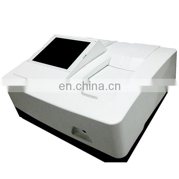 Touch screen Android System EU-2600DT Double Beam UV VIS Spectrophotometer price uv vis spectrometer