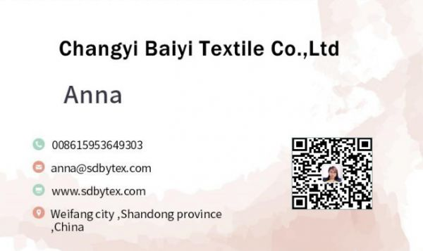 Changyi Baiyi Textile Co.,Ltd