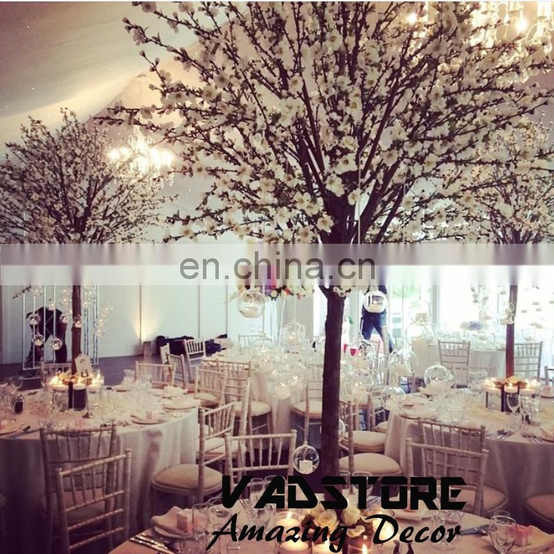Artifiical cherry blossom table wedding centerpiece tree mini artificial cherry blossom tree ficus cherry blossom tree
