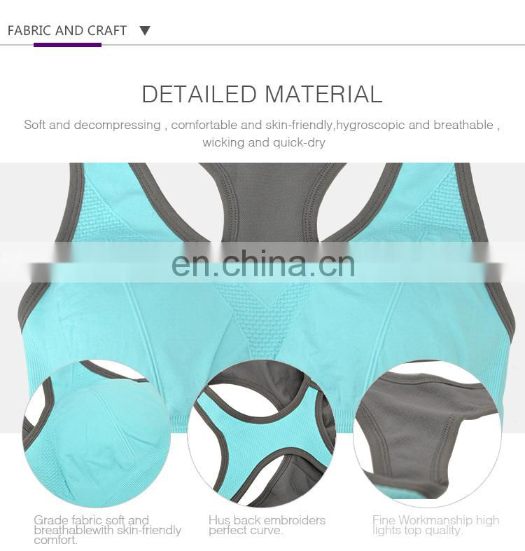 Wholesale Design Your Own Band girls sublimation yoga sports bra