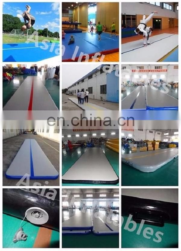 Athletics gyms air floor pro / inflatable air track gymnastics / tumbling air track