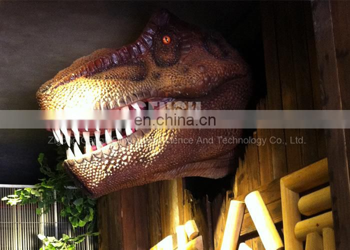 Indoor Palyground Dinosaur Exhibition - Huge Dinosaur Head