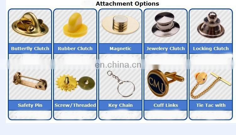 China factory directly sale cheap 3D custom logo die casting soft enamel zinc alloy gold epoxy emblem metal lapel pin badge