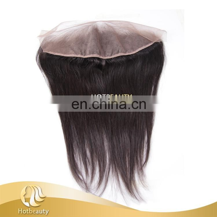 New arrived human hair lace front closure brazilian silky straight