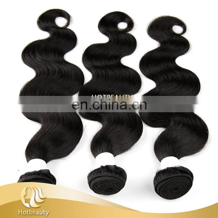 Top 10 100% Pure Virgin Human Hair Bundles Hotbeauty Brazilian Hair