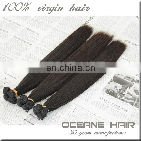 Top selling large stock fast delivery factory price malaysian human hair weave