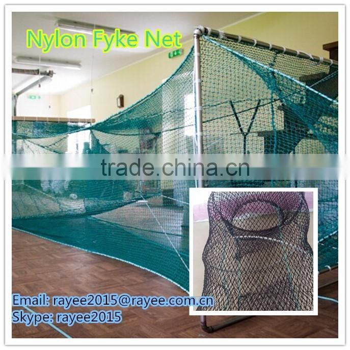 fishing net roll/ multifilament material fishing net ,Sardines Fishing Net: 210D/4ply *9-9,2mmsq*1000md*100m black,cast net mesh
